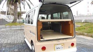 getlinkyoutube.com-軽キャンピングカー ワーゲンバス仕様 2段ベット!三重県四日市市 オートスピリット
