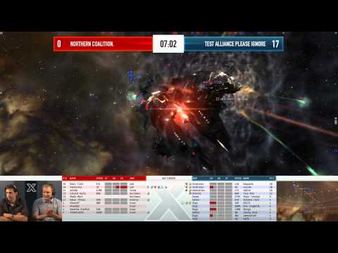 EVE Online - AT10 Day 5 Match 6 - Nothern Coalition. vs Test Alliance Please Ignore