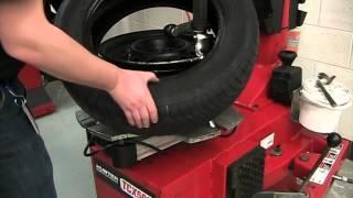 Tire Machine: Tire Remove & Install