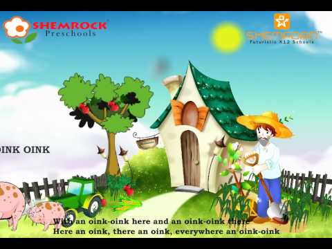 Nursery Rhymes Old Macdonald had a Farm video songs
