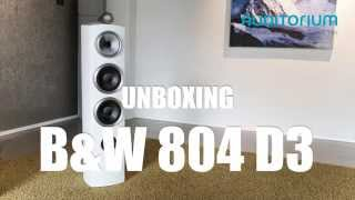 getlinkyoutube.com-Unboxing Bowers & Wilkins 804 D3