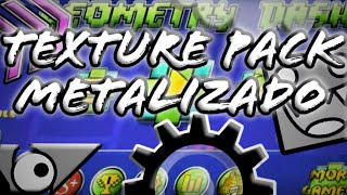 getlinkyoutube.com-Geometry Dash 2.011 Texture Pack Metalizado Steam (PC) (Calidad Medium y Low) Android HD y Low