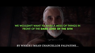 "getlinkyoutube.com-Star Wars Episode III ""Alternate Ending"": Dooku reveals 'the Truth'"