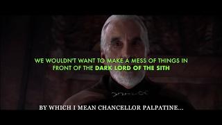 getlinkyoutube.com-Star Wars III Alternate Ending 1: Dooku reveals the Truth