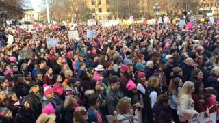 Women's March in Ann Arbor