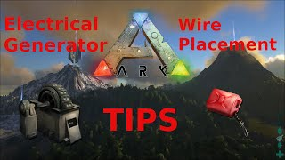getlinkyoutube.com-Ark Survival Evolved Electrical Generator and Wire Placement Tips