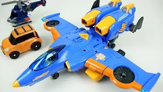 TOBOT Airplane transformers and Carbot car toys