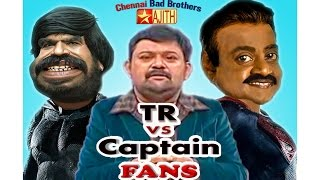 getlinkyoutube.com-TR vs Vijayakanth Marana Kalaai in Neeya Naana & Vijay Awards Spoof Video | Chennai Bad Brothers