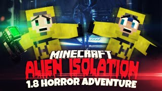 getlinkyoutube.com-Minecraft 1.8 Weltraum Horror! ★ ALIEN ISOLATION