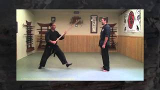 getlinkyoutube.com-Ninjutsu - Rokushakubo Strikes from 6th Kyu - Ninja Training Video Blog - Learn Ninjutsu