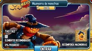 "getlinkyoutube.com-Monster Legends - Mazmorra de Monstruo ""TAO TAO"" - ¡COMPLETA!"