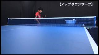 getlinkyoutube.com-卓球 アップダウンサーブ上達法・Meiji c.s.c 宇田幸矢選手【卓球情報】シェークハンズ