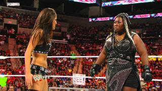 getlinkyoutube.com-Raw: Kelly Kelly vs. Brie Bella