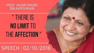 getlinkyoutube.com-Prof.Jayanthasri Balakrishnan's SPEECH about Affection | 02/10/2016