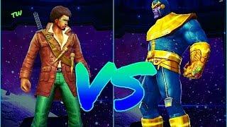 getlinkyoutube.com-Blade Vs Thanos - Marvel Future Fight