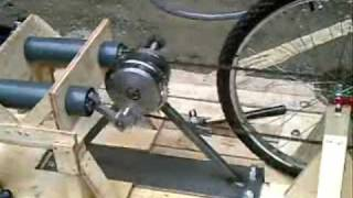 getlinkyoutube.com-Pedal powered water pump. 2007.