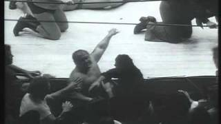 getlinkyoutube.com-WCW: Bulldog Brower & Abdullah the Butcher vs Mark Lewin & Killer Karl Kox