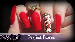 Nail Art Perfect Flores - Unhas Artísticas Nill