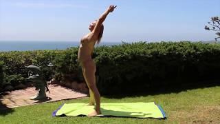 getlinkyoutube.com-Nearly Nude Yoga by Maren