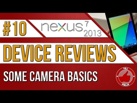 Nexus 7 2013 Review - Camera Basics