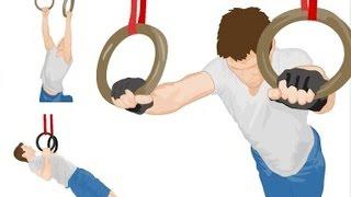 getlinkyoutube.com-Крутые упражнения на кольцах! О которых возможно Ты не знал! Ring Basics for CrossFit