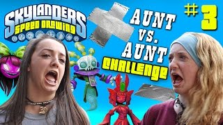getlinkyoutube.com-Skylanders Speed Drawing Challenge Part 3: COME ON OVER! Aunt vs. Aunt Draw Battle w/ haha laughs