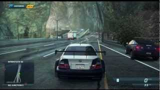 getlinkyoutube.com-Need For Speed Most Wanted (2012) [Xbox 360]: BMW M3 GTR Gameplay