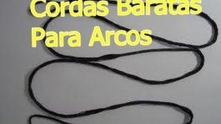 getlinkyoutube.com-Arco e Flechas(Cordas Resistentes e Baratas)