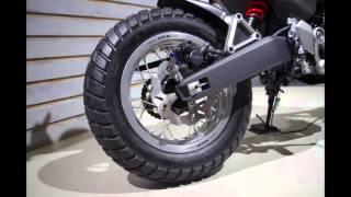 getlinkyoutube.com-エイプ50の後継機か?ホンダ グロム50 スクランブラー 各部詳細 モーターショー2015