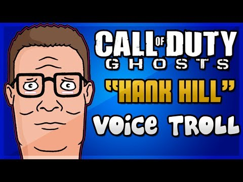Hank Hill Voice Trolling on Call of Duty Ghosts