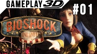 getlinkyoutube.com-BioShock: Infinite #001 3D Gameplay Walkthrough SBS Side by Side (3DTV Games)