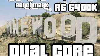 getlinkyoutube.com-[GTA V] Grand Theft Auto V PC Benchmark on AMD A6 6400K Dual Core