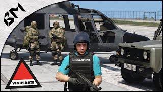 getlinkyoutube.com-GTA 5 - LSPDFR - PLAN VIGIPIRATE - Armée/Gendarmerie - Patrouille 27