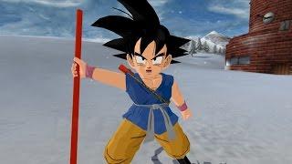 getlinkyoutube.com-Kid Goku GT with the Power Pole (Dragon Ball Tenkaichi 3 Path to Power Mod)