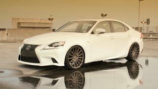 getlinkyoutube.com-2014 Lexus IS250 F-Sport | Vossen 20'' VFS2 Concave Wheels | Rims