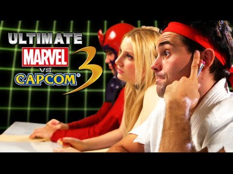 Rejected Ultimate Marvel vs. Capcom 3 Characters