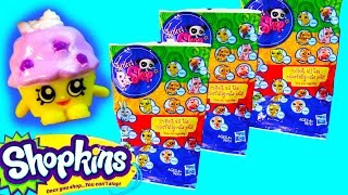 getlinkyoutube.com-LPS Colorfully Cute Pets Blind Bags Littlest Pet Shop Toy Opening Shopkins Muffin Helps