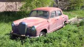 getlinkyoutube.com-1959 Mercedes 180 Ponton