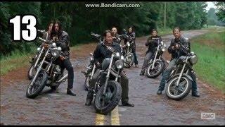 getlinkyoutube.com-Daryl Dixon - ALL HUMAN KILLS (Seasons 1-6) (SPOILERS)