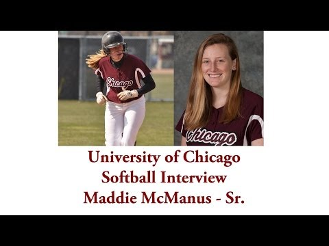 UChicago Athletics: Softball Interview with Maddie McManus (4-16-2014)