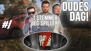 getlinkyoutube.com-FØRSTE NAT! - 7 Days To Die dansk Ep 1