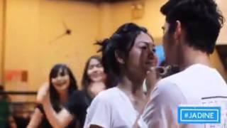 James Reid and Nadine Lustre Dance Rehearsal Sweet