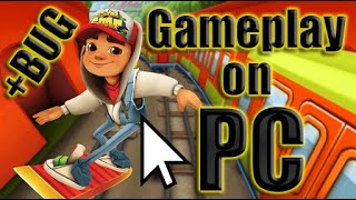 getlinkyoutube.com-Subway Surfers Gameplay on PC | My record is 732355