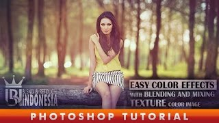 getlinkyoutube.com-Color Effect With Blend And Mixing Texture Color Image Photoshop Tutorial
