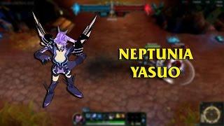 getlinkyoutube.com-Neptune The Purple Heart Yasuo LoL Custom Skin ShowCase