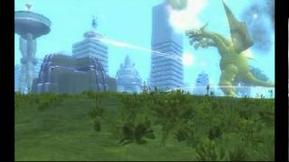 getlinkyoutube.com-Destroy All Monsters: Godzilla and Spore