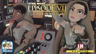 getlinkyoutube.com-Disney Infinity 3.0 - Star Wars: The Force Awakens - Millennium Garbage (Xbox One Gameplay) - Part 3