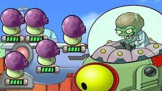 getlinkyoutube.com-Plants Vs Zombies Star Wars - FINAL Zomboss Battle Level 6 Walkthrough - PVZ Tower Defense