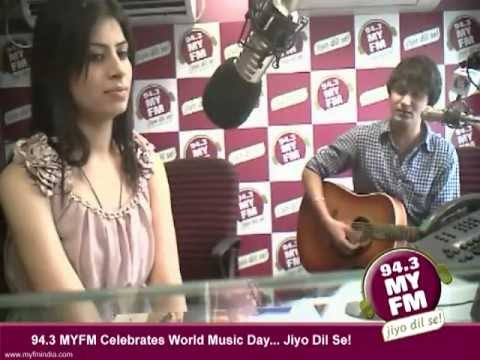 94.3 MY FM Celebrates World Music Week - With Emptiness Fame Gajendra Verma - 22nd June 2012