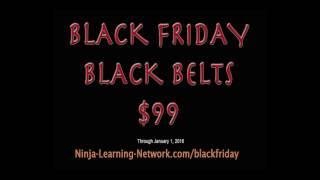getlinkyoutube.com-Black Friday Black Belt Sale $99: Ninja Training Ninjutsu Bujinkan 8 hour Video Course